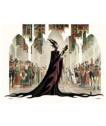 George Caltsoudas Maleficent Sleeping Beauty Giclee Art Print Poster /12... - $111.55