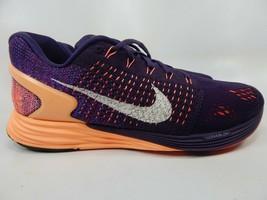 Nike LunarGlide 7 Size 8.5 M (B) EU 40 Women's Running Shoes Purple 747356-500