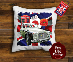 Rover P4 Cushion Cover, Rover P4, Union Jack,Target, Mod, Poppy, - $9.01+