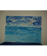 Lake view painting;  Artis:  Pitsana Borihane - $10.95