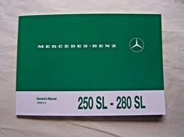 Mercedes 280sl 250sl Owners Manual w113 Parts Service 280SL w113 Pagoda new - $128.69