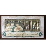 Katherines Collection Victorian Ornaments Box Set of 6 Christmas Ornamen... - $35.99