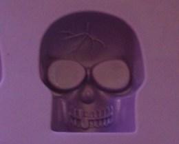 New Halloween Skulls Ice Cube Tray, 10 Skulls