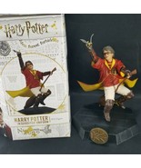 Harry Potter Quidditch Uniform Outfit PVC Figure Icon Heroes Statue Broo... - $39.59