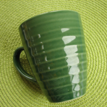 California Pantry Classic Ceramics Green Coffee Mug Cup 2005 - $3.99