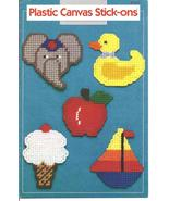 Plastic Canvas Stick-Ons 14 Designs Annie's Attic - £5.40 GBP