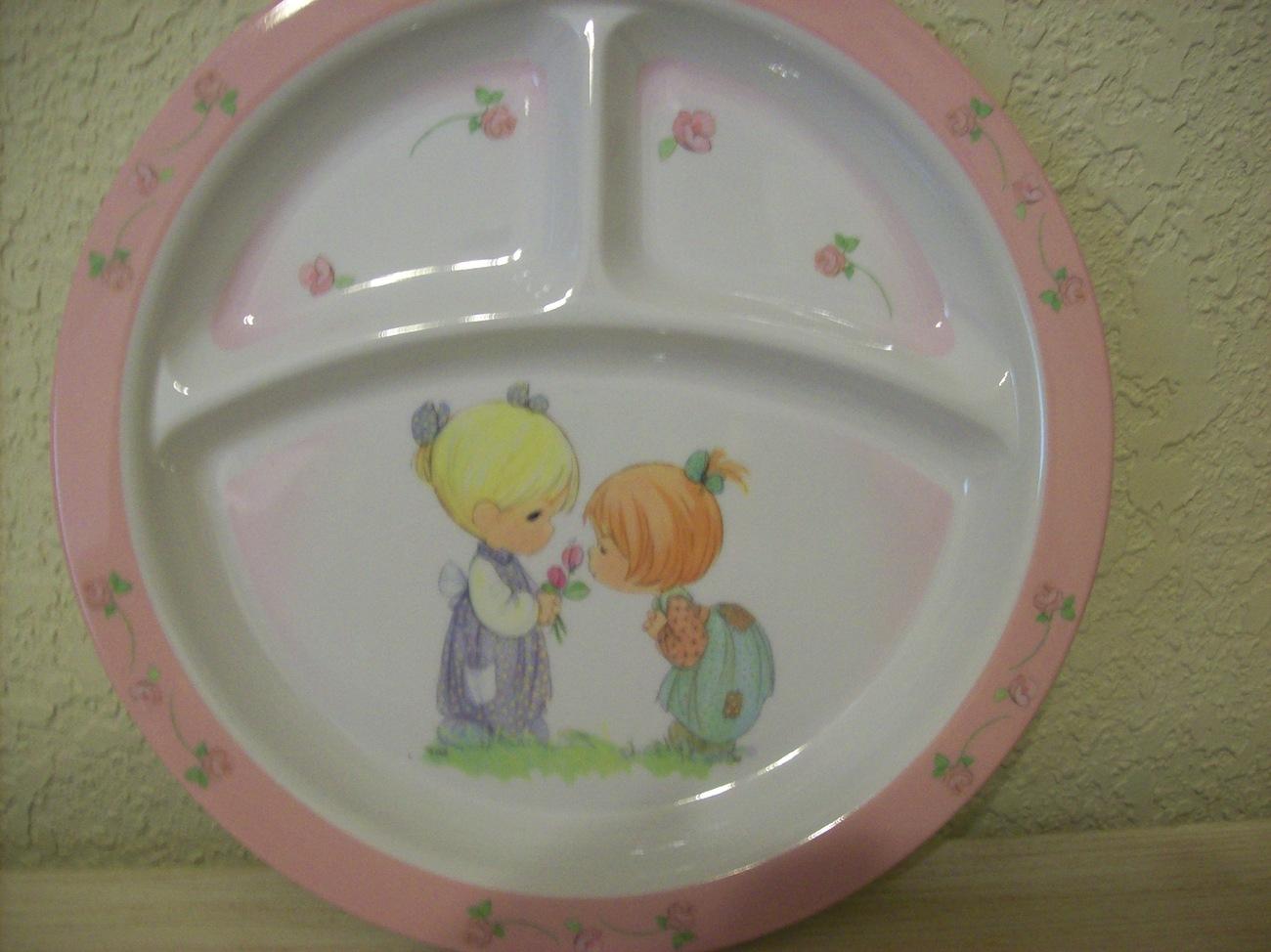 Precious Moments 2 pc. Children's Melamine Plates