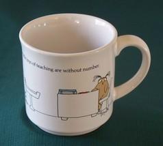 Sandra Boynton Joys Of Teaching Coffee Mug VGC - $12.50