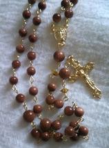 Golden Stones Rosary - $23.80