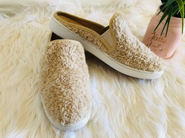 New Without Box UGGS Beige sheep skin  Slippers Shoes Size US 10 Christm... - $73.49