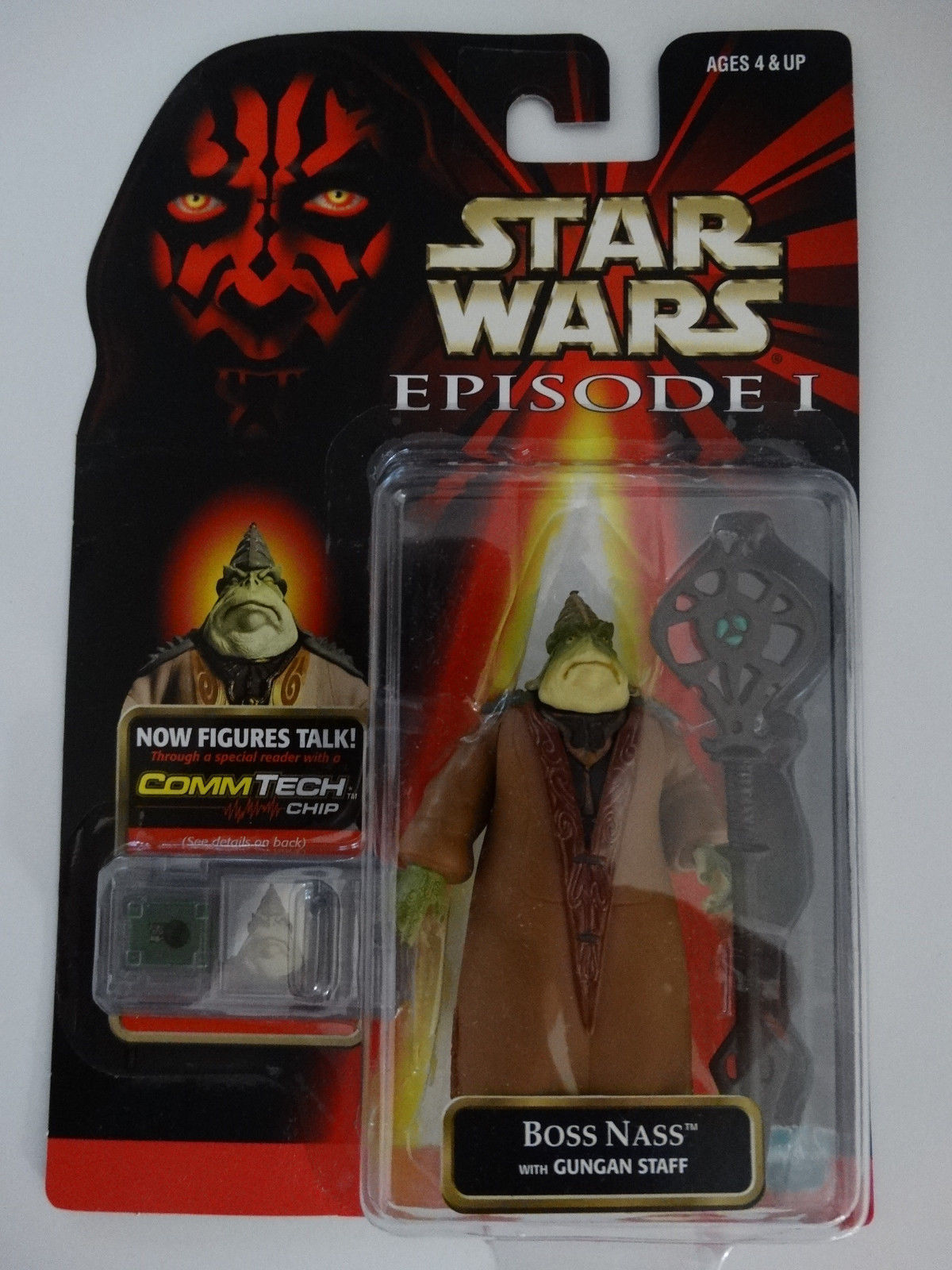 1998 Star Wars Episode I Boss Nass With And 50 Similar Items