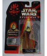 1998 Star Wars Episode I Boss Nass With Gungan Staff Commtech Chip Actio... - $15.00