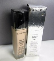 LANCOME Foundation 410 Bisque W Teint Idole Ultra 24H Divine ~ DAMAGED A... - $26.18