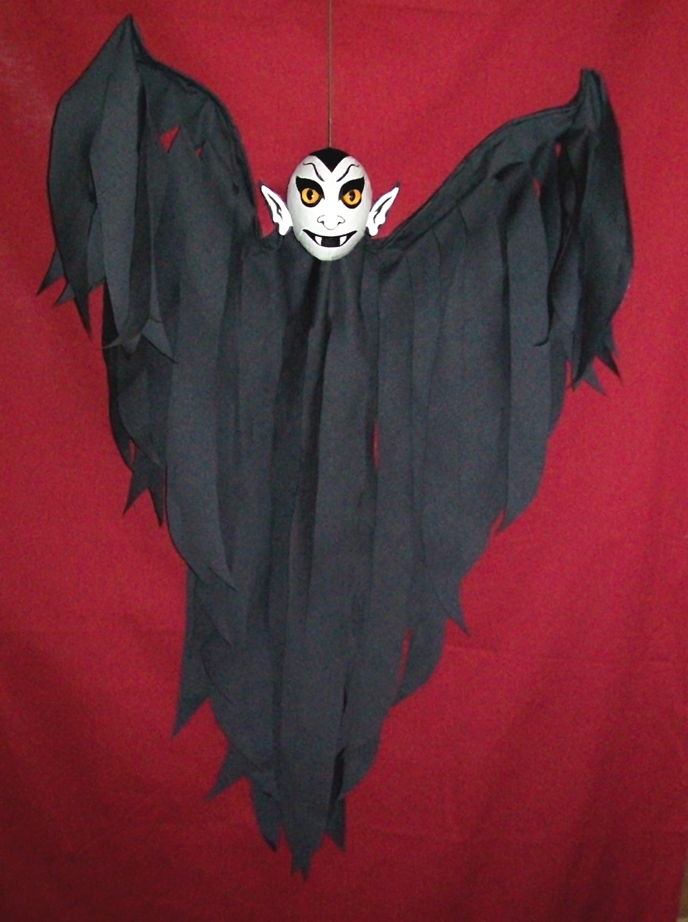 Halloween Hanging Vampire Flyer VAMPY Hand-Crafted