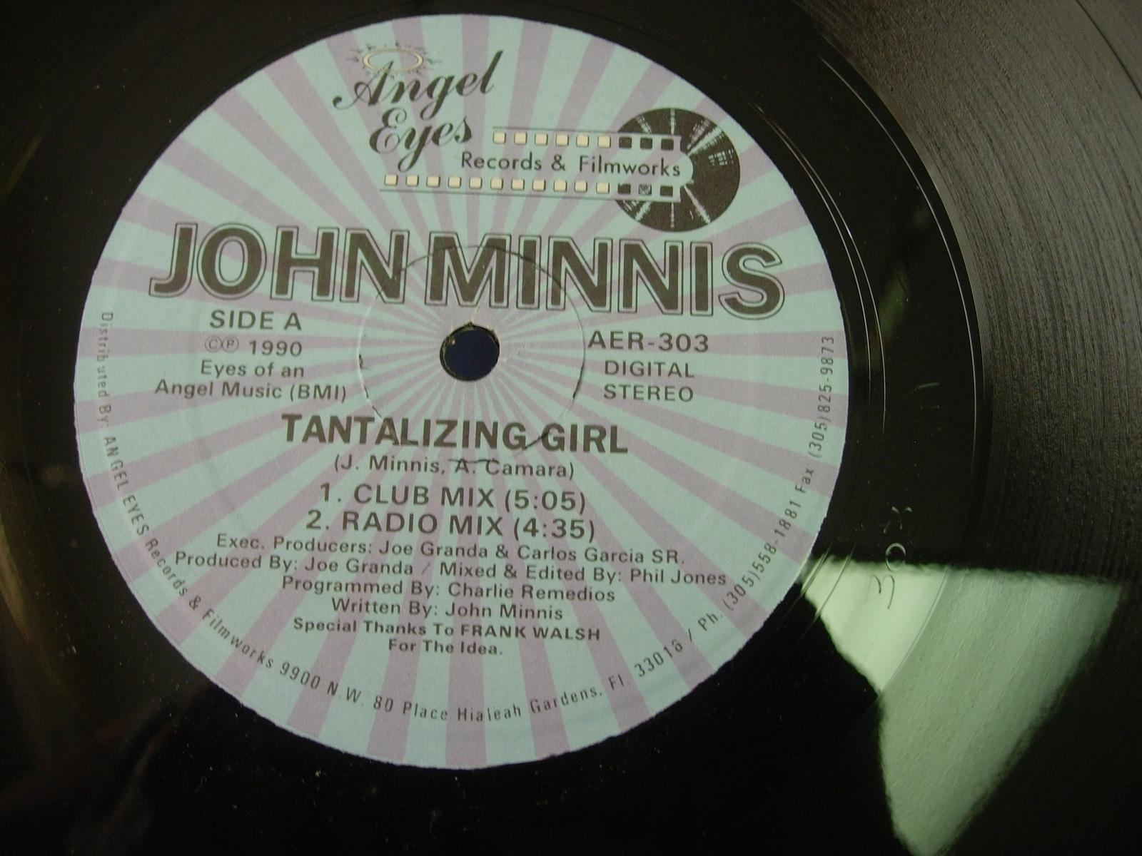John Minnis - Tantalizing Girl - Angel Eyes Records AER-303