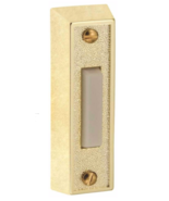 NEW Preferred Industries 653477 Push Button Door Bell, Brass - $11.30