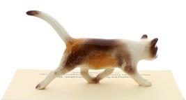 Hagen-Renaker Miniature Ceramic Cat Figurine Calico Prowling image 3