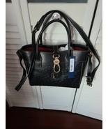 DOONEY & BOURKE Florentine Leather Large Amelie Tote  Shoulder bag Black - $277.42