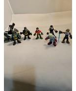 "DC COMICS Robin, batman motorcycle  spaceman ACTION FIGURES 3"" Tall lot ... - $17.75"