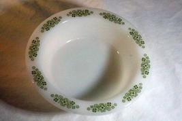 """Anchor Hocking Springwood Rimmed Soup Cereal Bowl 6 3/4"""" - $3.46"""