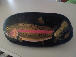 Rainbow Trout - Painted Rock image 1