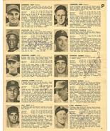 13 autographs 1966 sport magizine koufax marichal lee mccool linzy malon... - $499.99