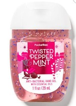 Bath Body Works Pocketbac Hand Sanitizer Twisted Peppermint 2020 1 Oz. - $3.75