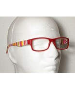 Fruit Stripes Fashion Reading Glasses Red Candy Stripe Temple Unisex +3.... - $9.79