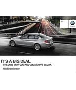 2013 BMW 320i sales brochure catalog folder 13 US xDrive - $8.00