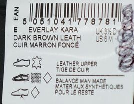 Clarks 15807 Everlay Kara Womens Dark Brown Leather Shootie Size 6 image 4