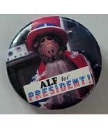 Alf for President Red Topper Pinback  - $1.99