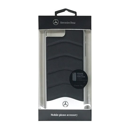 Mercedes-Benz Genuine Leather designer leather Hard Case for iPhone 7,8 Plus