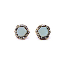Chloe + Isabel Sand & Sky Turquoise Stud Earrings - $22.00