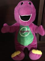 2000 Playskool Barney Talking Singing Plush Doll - $25.75