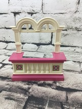 Loving Family Balcony Grand Mansion Dollhouse Replacement Toy Fisher Price - $11.88