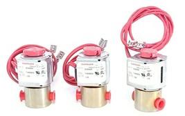 LOT OF 3 NEW ASCO FLEXKLEEN E20929 SOLENOID VALVES 1/8 INCH NPT 125 PSI