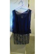 Arden B Mini Dress Navy Blue Sequin Size Small NWT! Retail $98.00 - $37.14