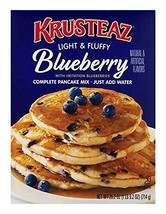 Krusteaz Light & Fluffy Complete Pancake Mix, Blueberry, 25.2 OZ Pack of 3 - $25.34