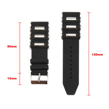 Silicone Rubber Diver Watch Band Strap For Invicta Excursion 18202 Black 26mm US - $16.34