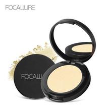 FOCALLURE® 5 Colors Highlighter Powder Brighten Face Foundation Palette ... - $6.91