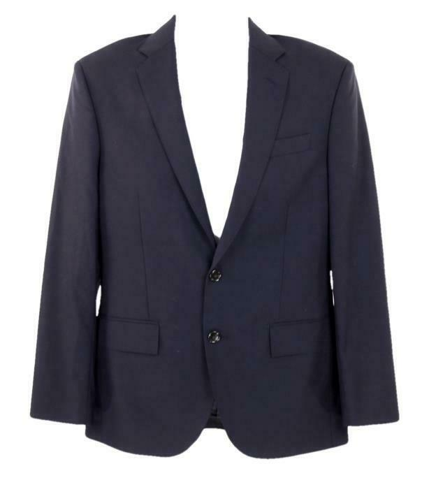 Primary image for J Crew Men's Crosby Suit Jacket with Center Vent in Italian Wool Navy B2097 48R