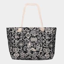 paisley Beach Bag Tote Bag - $29.99