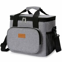 Lifewit Insulated Lunch Bag Box 15L ( 24-Can ) Soft Cooler Bag, Thermal ... - $37.07 CAD
