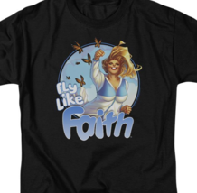 Fly Like Faith T Shirt Zephyr Harbinger Renegades  Valiant Comics LVAL236 image 2