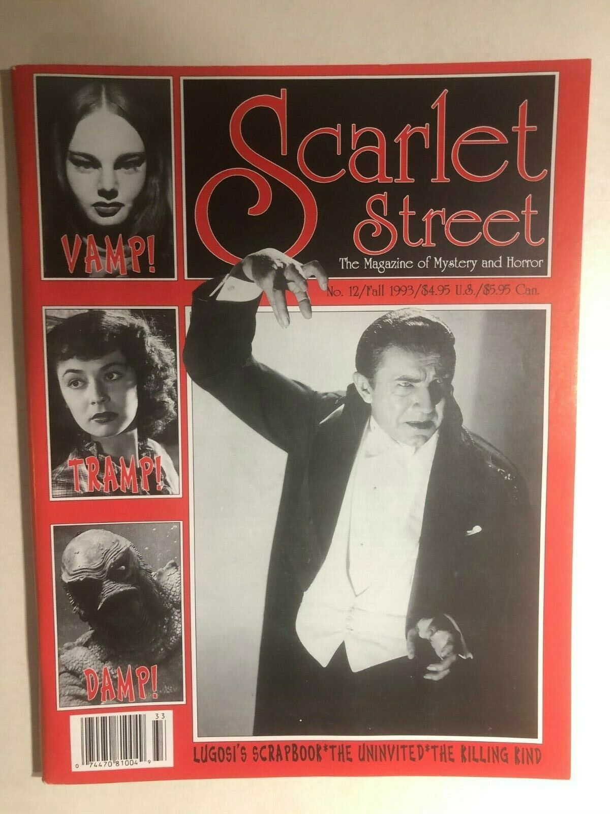 Primary image for SCARLET STREET #12 (1993) horror magazine VERY FINE