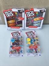 Tech Deck Sk8Shop Bonus Pack Limited Edition Lot OF 4 Packs, 20 Boards! - $43.56