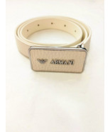 Emporio Armani Junior Logo Belt 100034 Bianco Off White 71 - $134.64