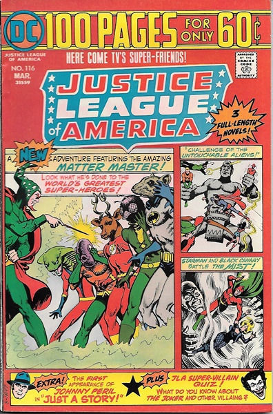 Primary image for Justice League of America Comic Book #116, DC Comics 1975 VERY FINE