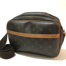 AUTHENTIC LOUIS VUITTON Monogram Reporter PM Shoulder Bag M45254 - $360.00