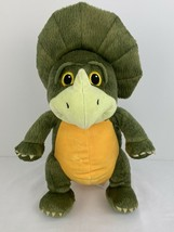 KOHLS CARES Three Little Dinosaurs Plush Triceratops Charles Fuge EUC 2017 - $10.94
